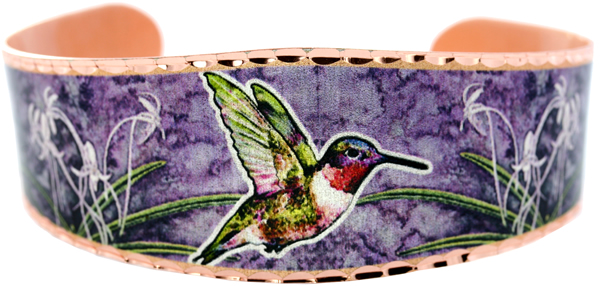 hummingbird-and-flowers-purple-bracelets-BSJ-44