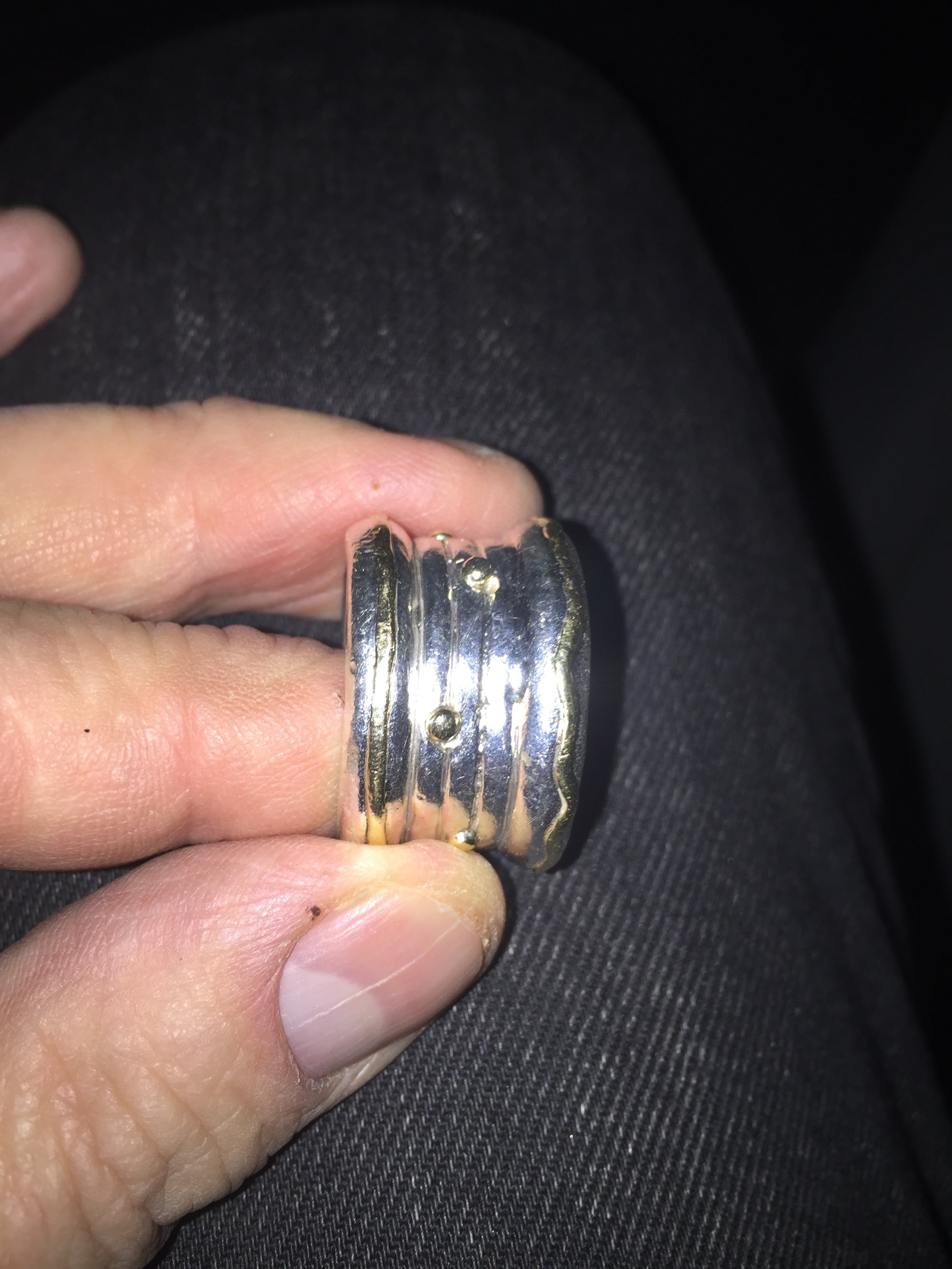 Im trying to solder gold wire onto a silver ring shank - Jewelry ...