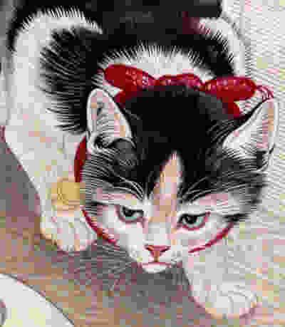 Ohara Koson - Cat 5%