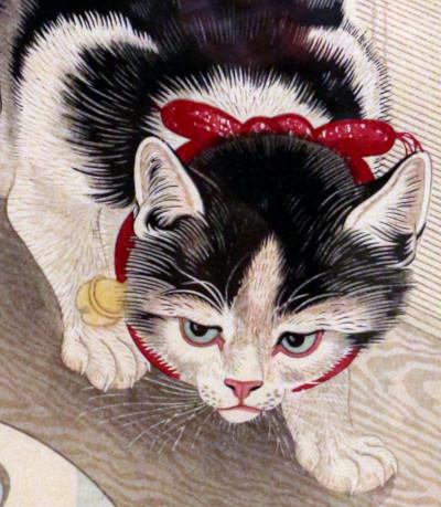 Ohara Koson - Cat 100%