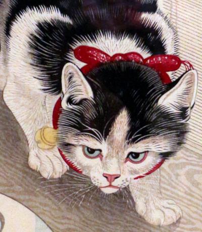 Ohara Koson - Cat 75%