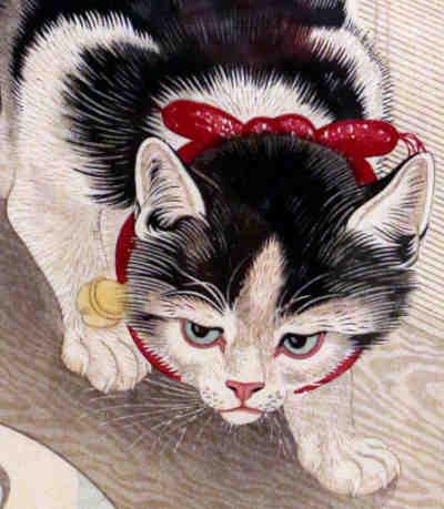 Ohara Koson - Cat 25%