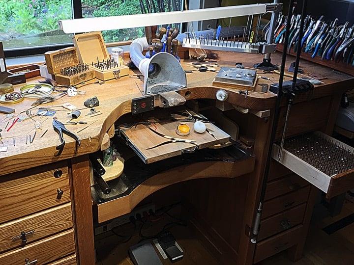 Groovy Otto Frei Jewelers Bench Herjewelry Co Cjindustries Chair Design For Home Cjindustriesco